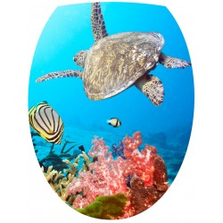 Sticker WC Tortue Caraibes