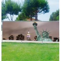 Brise-vues déco Statue de la Liberté