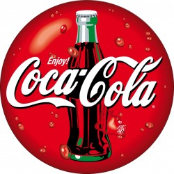 Sticker Frigo Frigidaire Coca Cola