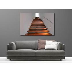 Tableaux toile déco rectangle escalier