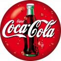 Sticker autocollant Coca Cola