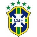 Stickers Football Brésil logo