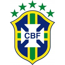 Stickers Football Brésil logo