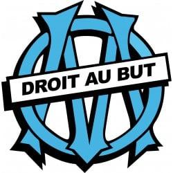 Sticker autocollant Olympique Marseille OM