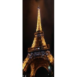 Sticker frigidaire Frigo Tour Eiffel 70x170cm