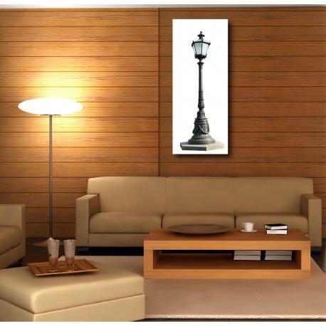 Tableaux toile déco rectangle lampadaire