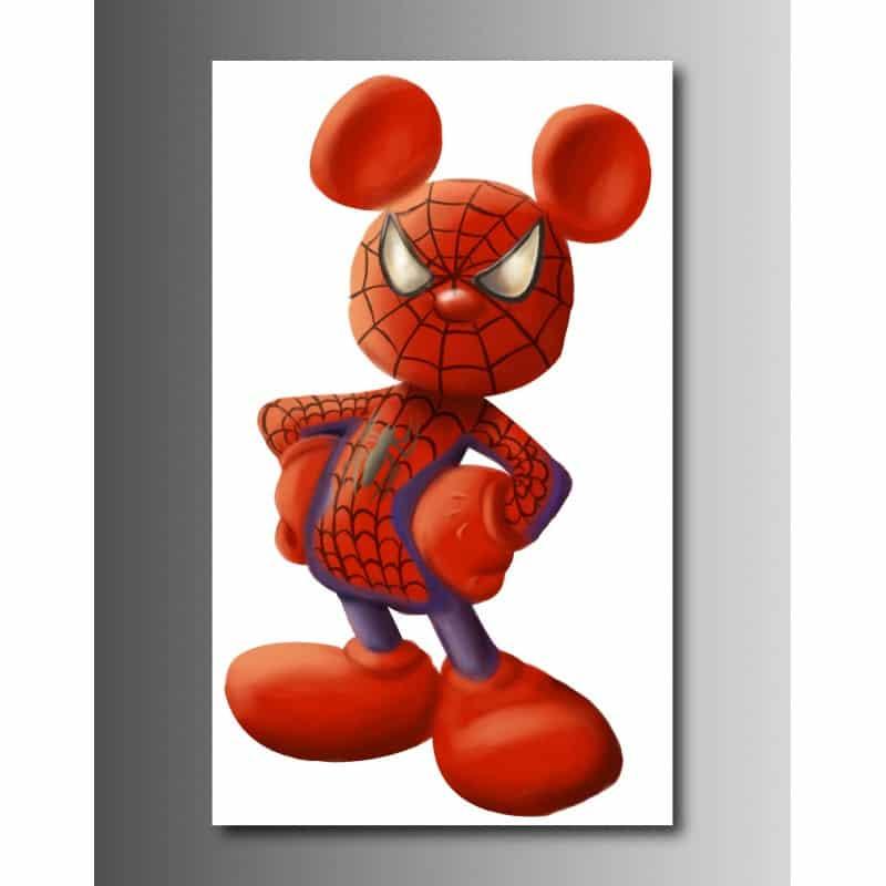 Tableaux Toile Déco Rectangle Verticale Disney Marvel Art Déco