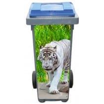 Stickers poubelle déco Tigre