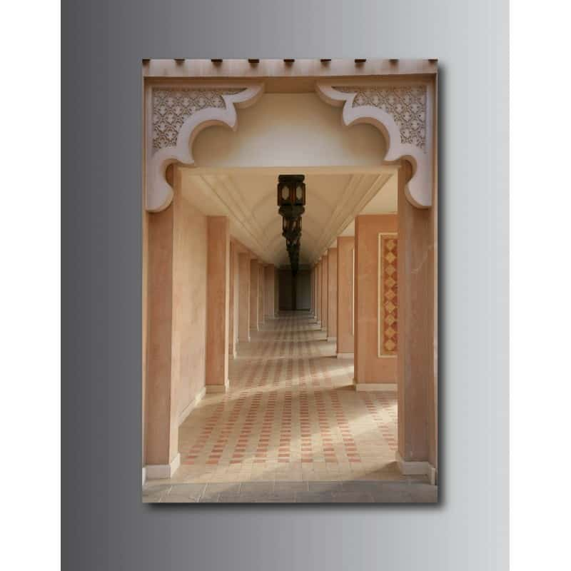 Tableaux toile d co rectangle verticale couloir art d co stickers - Tableau pour deco couloir ...