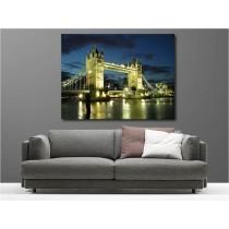 Tableaux toile déco rectangle London Bridge