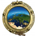 sticker Hublot Notre Planète