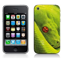 Sticker Autocollant Iphone 3 Serpent