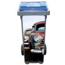 Stickers poubelle déco Voiture Cuba