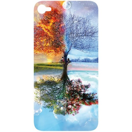 Sticker Autocollant Iphone 4 Arbre design