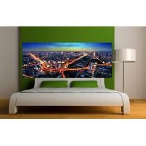 stickers t te de lit mer couch de soleil art d co stickers. Black Bedroom Furniture Sets. Home Design Ideas