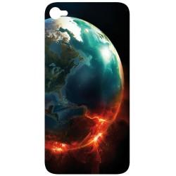 Sticker Autocollant Iphone 4 Planète