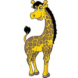 Sticker enfant Girafe