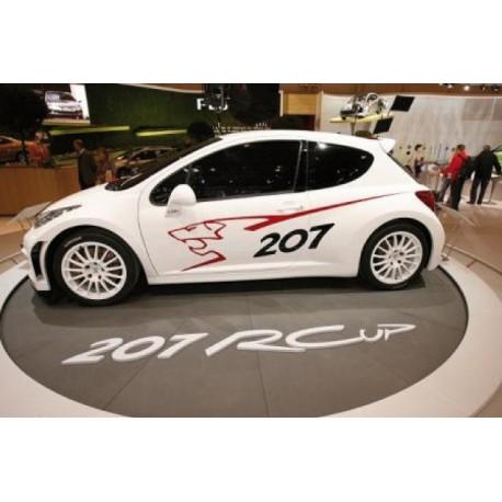 stickers Kit Peugeot Lion 106 206 206 cc 207 306 406 407 607