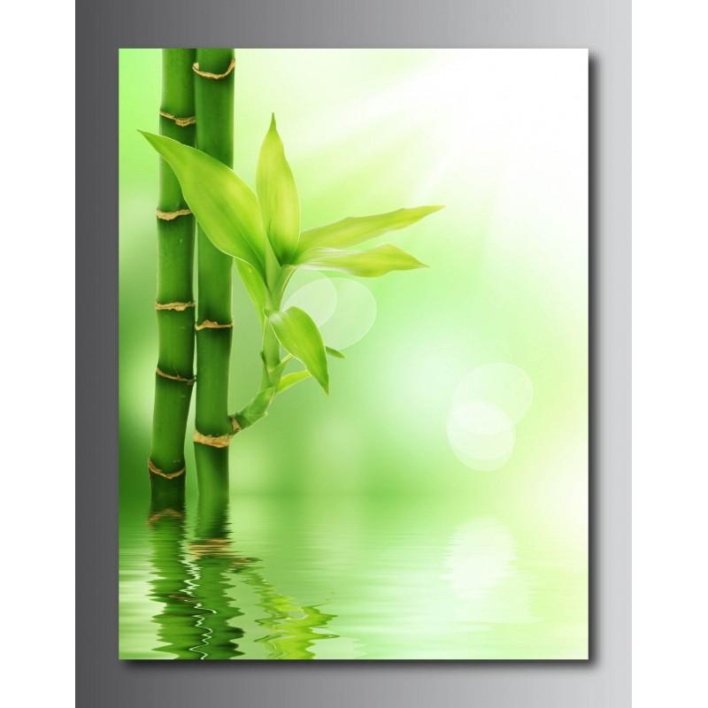 Tableau d coration bambou for Tiges de bambou deco
