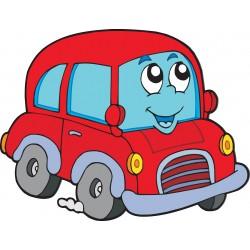 Stickers enfant Auto voiture