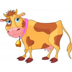 Stickers enfant Vache
