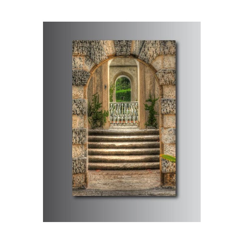 Tableaux toile d co rectangle verticale couloir art d co for Tableau pour couloir