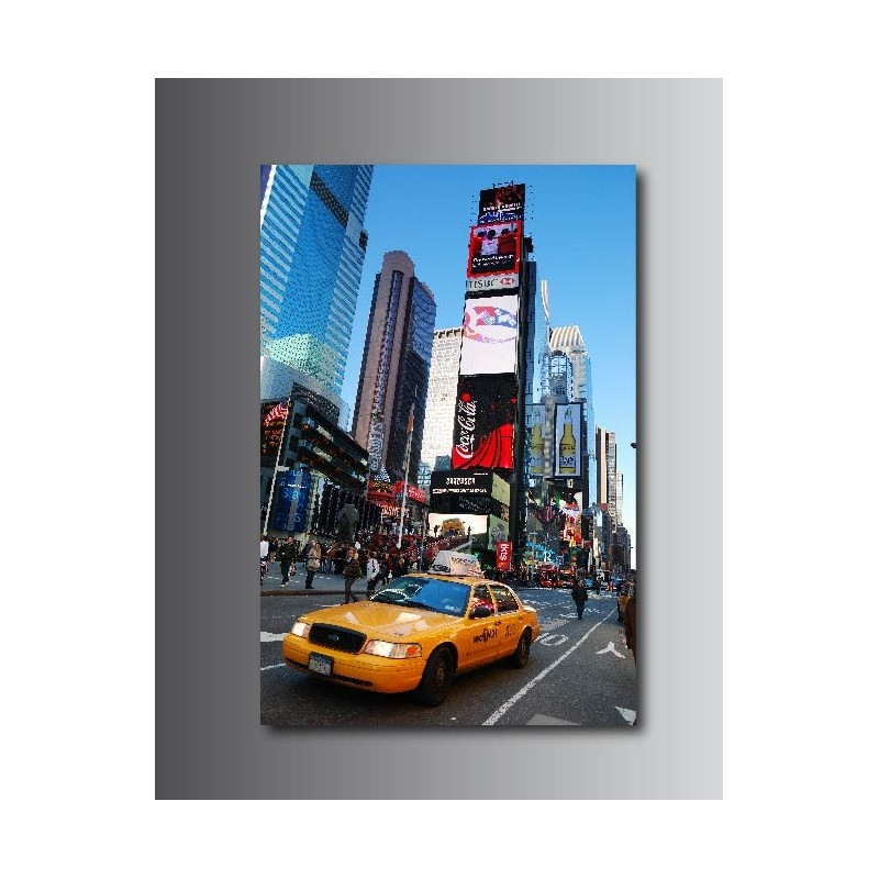 Tableaux toile d co taxi new york 65477374 art d co stickers - Tableau deco new york ...