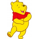 Sticker Autocollant enfant Winnie L'Ourson