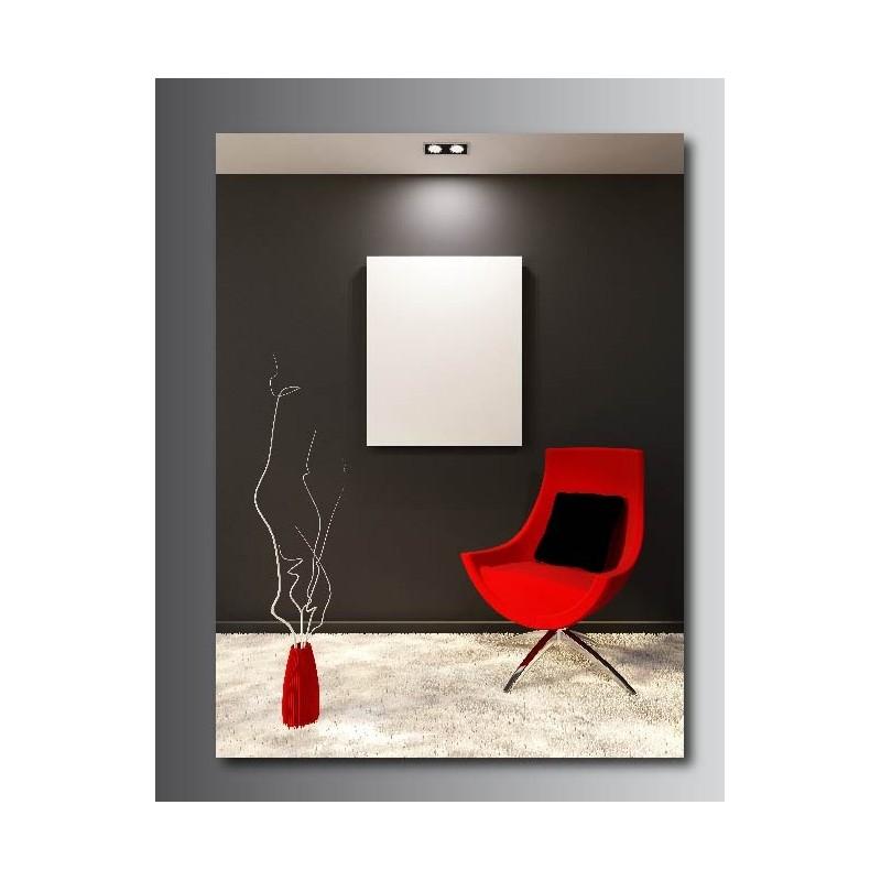 tableaux toile d co rectangle verticale d co couloir art. Black Bedroom Furniture Sets. Home Design Ideas