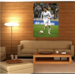 Tableaux toile déco rectangle verticale Christiano Ronaldo