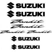 8 Stickers Autocollants Suzuki Bandit