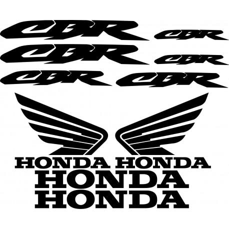 Stickers Autocollants Honda CBR