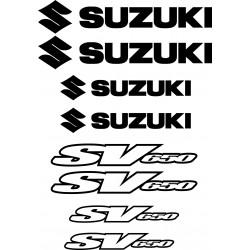8 Sticker Autocollant Suzuki SV650