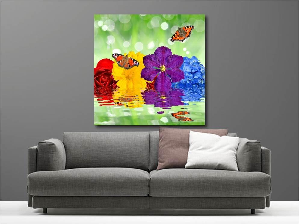 tableaux sur toile trendy declina tableau toile ambiance zen dco bouddha et fleurs sur cm x cm. Black Bedroom Furniture Sets. Home Design Ideas