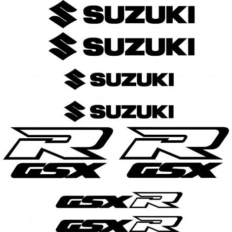 8 Sticker Autocollant Suzuki GSX-R