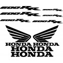 10 Stickers Autocollants Honda 600 RR