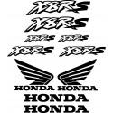 10 Stickers Autocollants Honda X8RS