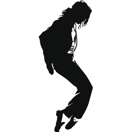 Sticker Michael Jackson Grandeur nature