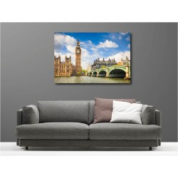 Tableaux toile déco Londres 107597459