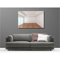 Tableaux toile déco rectangle appartement vide