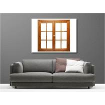 Tableaux toile déco rectangle fenêtre