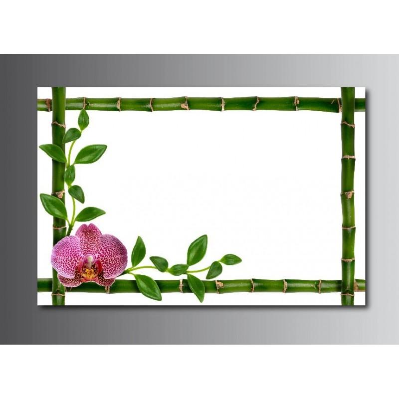 tableaux toile d co rectangle cadre bambou art d co stickers. Black Bedroom Furniture Sets. Home Design Ideas