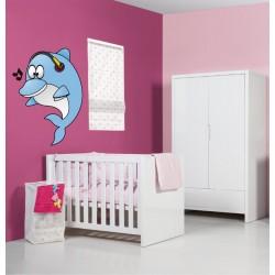 Sticker mural enfant bébé Dauphin