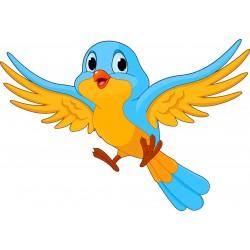 Stickers muraux enfant Oiseau