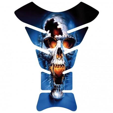 Sticker autocollant réservoir moto Skull