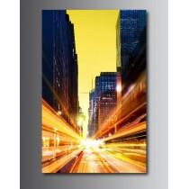 Tableaux toile déco rectangle verticale gratte ciel