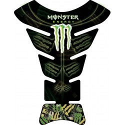Sticker autocollant réservoir moto Monster Energy