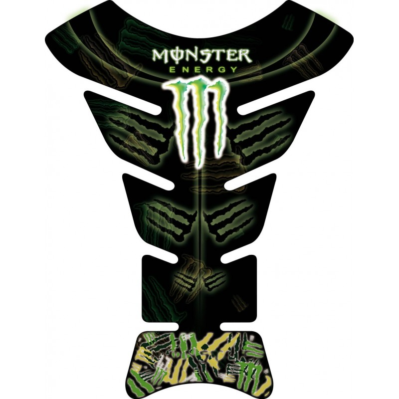 sticker autocollant r servoir moto monster energy art d co stickers. Black Bedroom Furniture Sets. Home Design Ideas