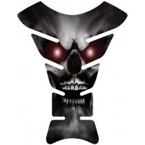 Sticker autocollant réservoir moto Skull II