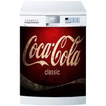 Stickers lave vaisselle ou magnet lave vaisselle Coca Cola